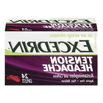 Excedrin Tension Hedache Size 24 Ct Excedrin Tension Hedache