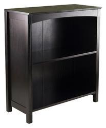 Winsome Terrace Storage Shelf 3-Tier Wide in Espresso, 26-