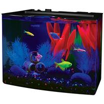 GloFish 3 Gallon Aquarium Kit w/ Cover, Frame, LEDs, Power
