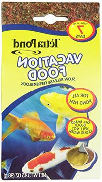 TetraPond  Vacation Food Slow Release Feeder Block, 3.45