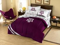 NCAA Texas A&M Aggies Twin Bed in a Bag with Applique