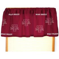 College Covers Texas A&M Aggies Printed Curtain Valance - 84