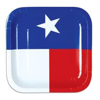 Beistle Texas Plates, 7-Inch