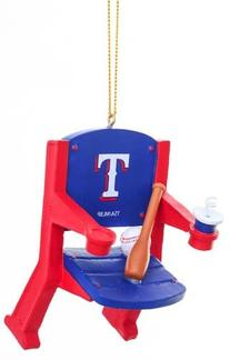 Texas Rangers Official MLB 4 inch x 3 inch Stadium Seat