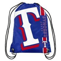 Texas Rangers Side Stripe Drawstring Backpack