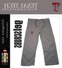 Texas Tech Red Raiders Scrub Style Pant from GelScrubs