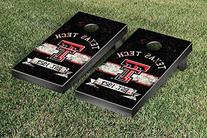 Texas Tech Red Raiders Cornhole Game Set Banner Vintage