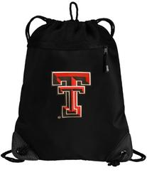 Texas Tech Red Raiders Drawstring Bag Texas Tech Cinch Pack