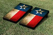 Texas Flag Vintage Cornhole Game Set