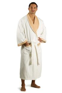 Men's Terry Cloth Bathrobe Robe ; Texere EcoFriendly Gift