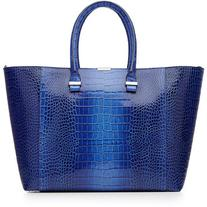Victoria Beckham Textured Leather Tote