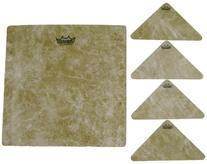 Remo Textured Targets 9-Inch Square and 4 Triangles