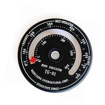 Vogelzang TG-01 Stovepipe Temperature Gauge Stovepipe - Each