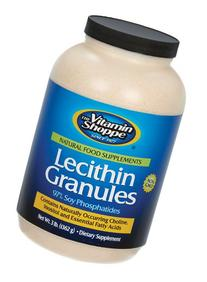 the Vitamin Shoppe Lecithin Granules 48 Container