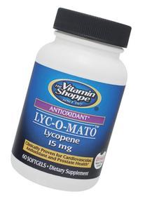 the Vitamin Shoppe Lycopene 60 Softgels