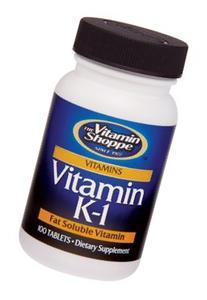 the Vitamin Shoppe Vitamin K1 100 Tablets