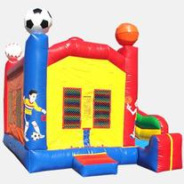 Sports Theme 4 In 1 KidWise Commercial Bounce House