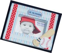 "Baby Essentials Themed Baby Frame 4"" x 6"" PINK, BLUE, YELLOW"