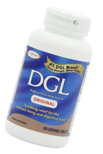Enzymatic Therapy DGL Anise Flavor Chewable Tablets - 100 Ea