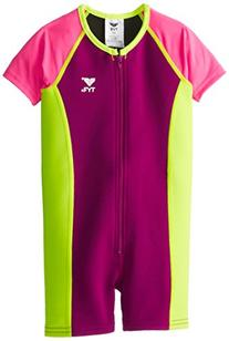Tyr Sport Girl's Solid Thermal, Purple/Pink, 7/8