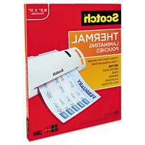 -- Letter size thermal laminating pouches, 3 mil, 11 1/2 x 9