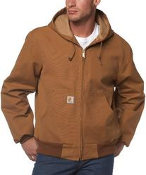 Carhartt Men's Thermal Lined Duck Active Jacket J131,Brown,
