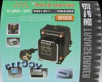 7 Star THG-500 U/D Step up & Down Voltage Transformer