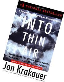 Into Thin Air By Jon Krakauser