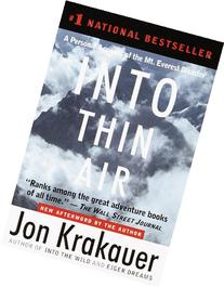 Into Thin Air: A Personal Account of the Mt. Everest