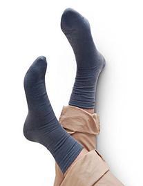 Vero Monte 6 Pairs Mens Thin Crew Dress Socks