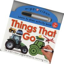 Things that Go: 26 Wipe-Clean Pages of Early Learning Fun
