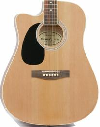 Full Size Thinline Acoustic Electric Guitar with Gig Bag