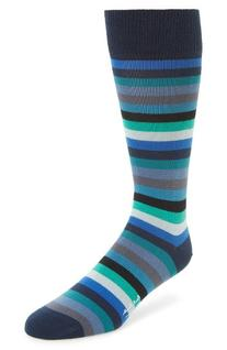 Men's Paul Smith Thol Stripe Socks, Size One Size - Blue