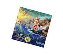Thomas Kinkade Disney Dreams - The Little Mermaid: 750 Pcs