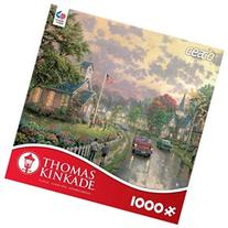 1000 Piece Thomas Kinkade Jigsaw Puzzle - Morning Pledge