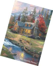Thomas Kinkade Painter of Light 2013 Large Monthly Planner