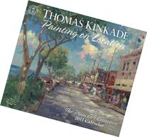 Thomas Kinkade Painting on Location 2013 Deluxe Wall