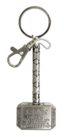 Marvel Thor Hammer Pewter Key Ring