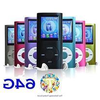 "Thor 64 GB Slim 1.8"" LCD Mp3 Mp4 Player Media/Music/Audio"