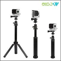 WoCase Three 3 Way 3 in 1 Camera Grip/Extension Arm/Tripod