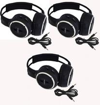 Three Pack of Two Channel Folding Adjustable Universal Rear