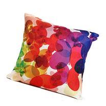 Throw Pillow cover,Dealgadgets Cotton Linen Square