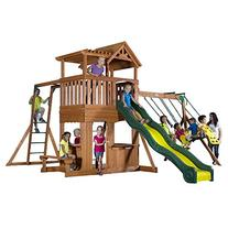 Backyard Discovery Thunder Ridge All Cedar Wood Playset