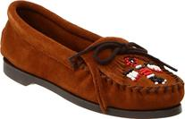 Minnetonka Women's Thunderbird Moccasin,Brown,7 M US