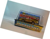 Johnny Lightning Thunderjet 500 Gold Batmobile Slot Car