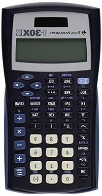 * TI-30X IIS Scientific Calculator, 10-Digit LCD