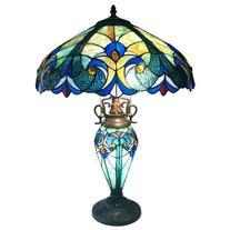 "Chloe Lighting Tiffany Roosevelt Victorian 26"" H Table Lamp"