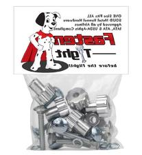 Fasten Tight Kennel Hardware - Silver 8 pack + 4 Pack