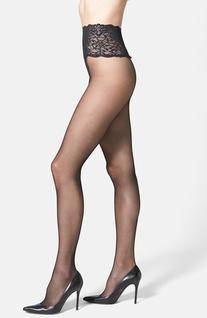 Women's Commando The Sexy Sheer Pantyhose, Size Medium -