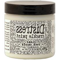 Tim Holtz Distress Crackle Paint 4oz Jar-Clear Rock Candy